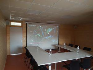 Vidéo projection - SCi La ferme du Sens - Villeneuve d'ascq