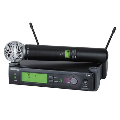 Location micro HF Shure SLX24+SM58