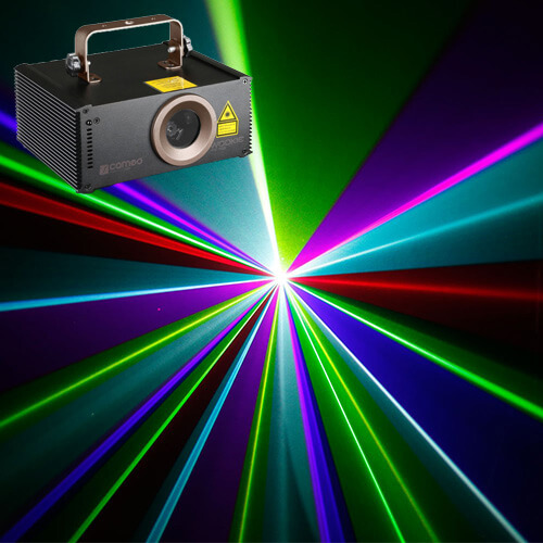 Location laser Cameo Wookie 400 RGB DMX