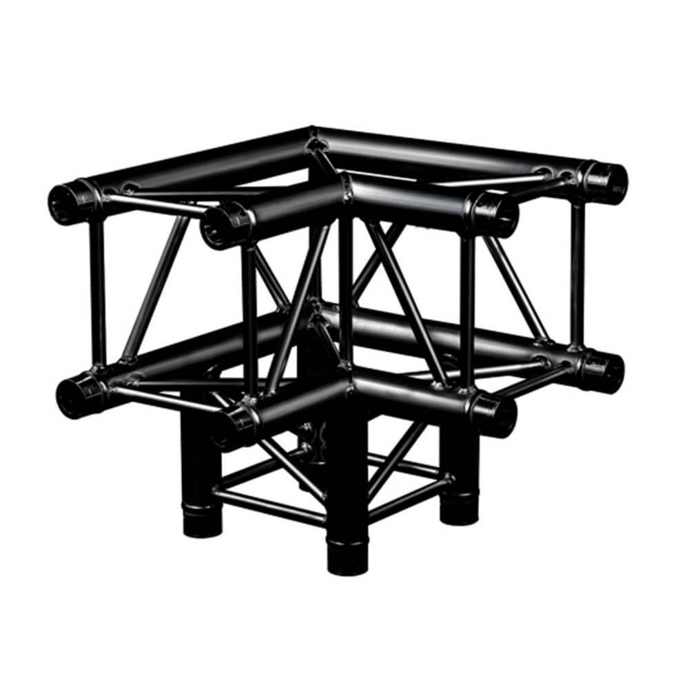 Location Structure Carrée Noire Angle Prolyte H30V C012